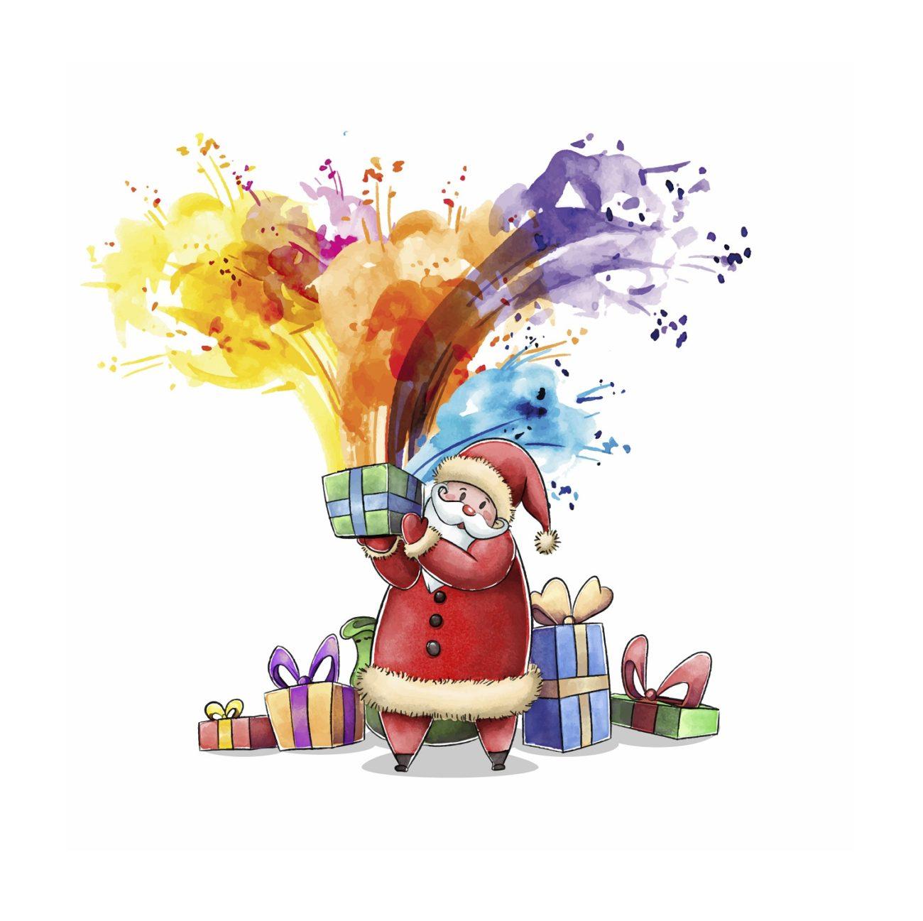 Babbo Natale e la ricerca dei colori perduti