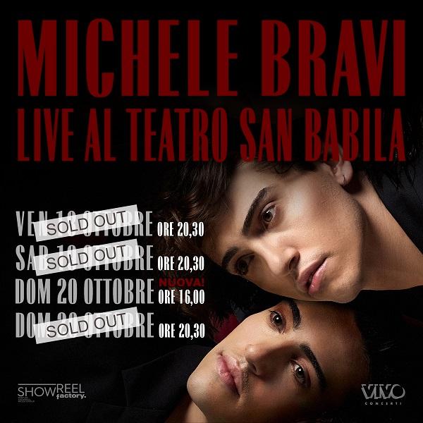 Michele Bravi – Live Piano e Voce – evento ospite